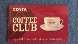 I'm counting the Costa of leaving this at home